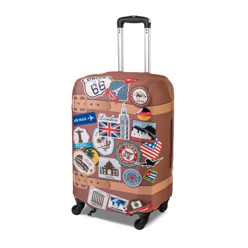 Чехол для чемодана «Винтаж»