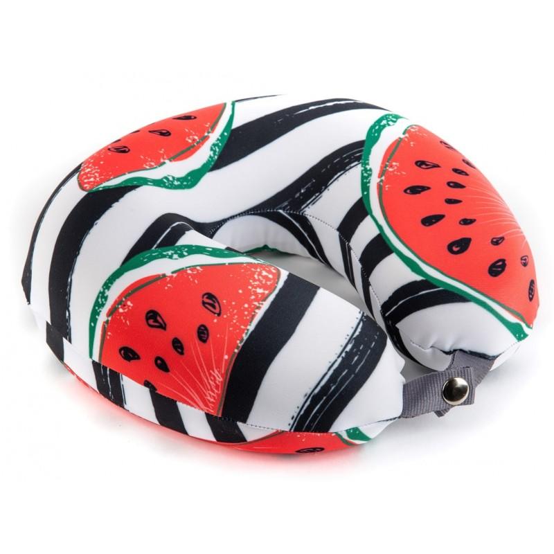 Подушка для путешествий «Арбуз»