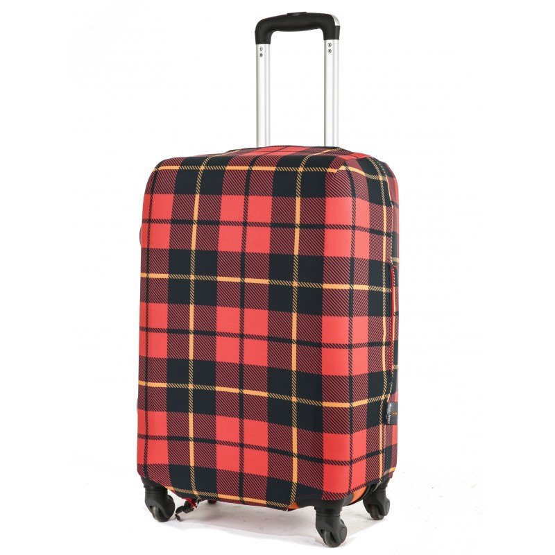 Чехол для чемодана Тартан размер L