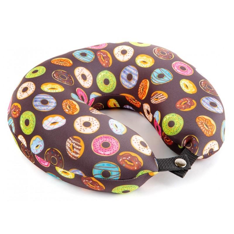 Подушка для путешествий «Пончик»