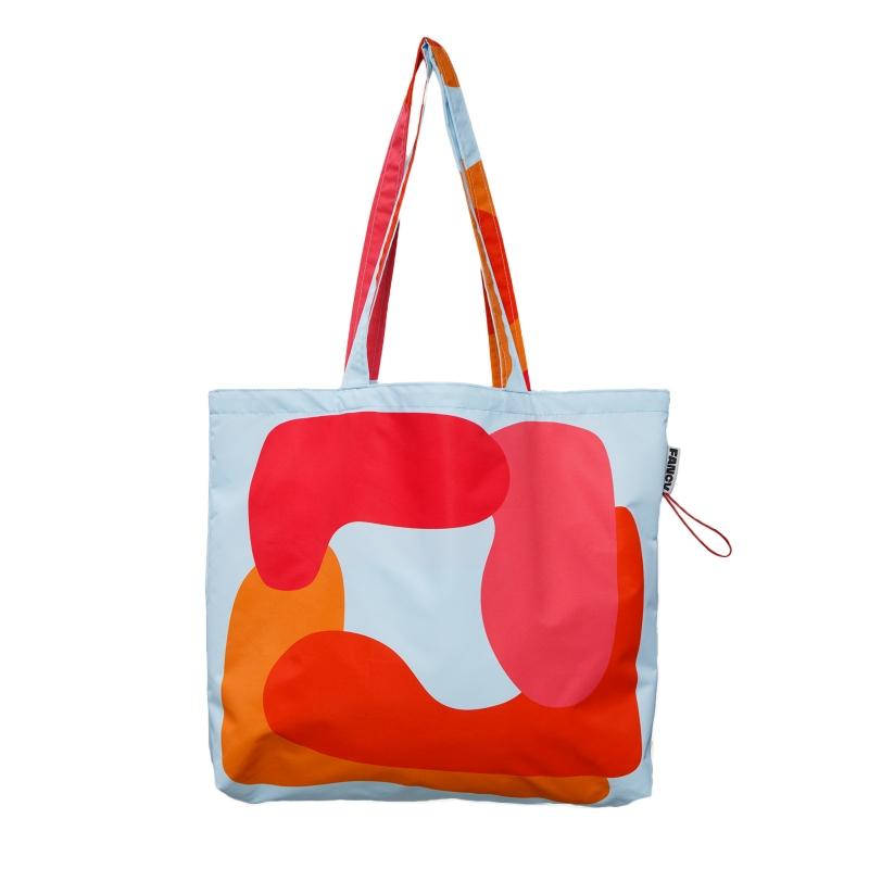 Сумка-шоппер XL «Красный квадрат»