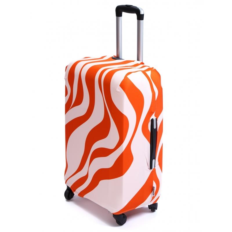 Чехол для чемодана «В оранжевом (тигр)»