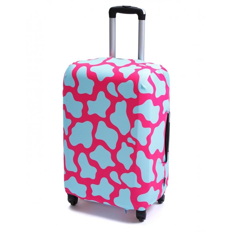 Чехол для чемодана «В розовом (черепаха)»