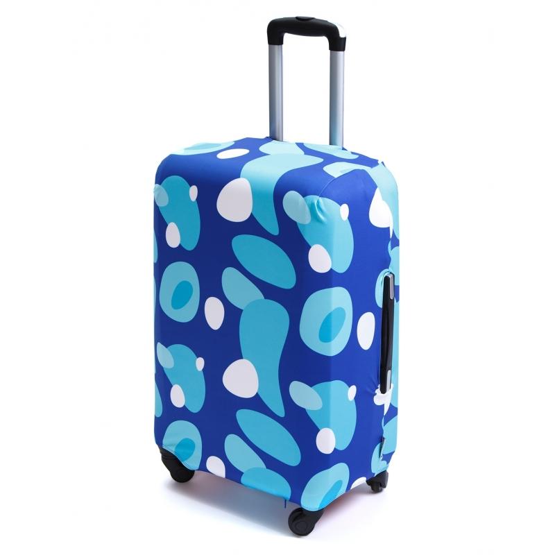 Чехол для чемодана «В голубом (морской прибой)»