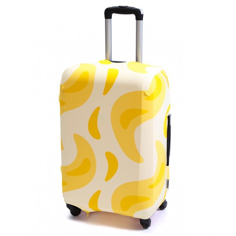 Чехол для чемодана «В желтом (банан)»