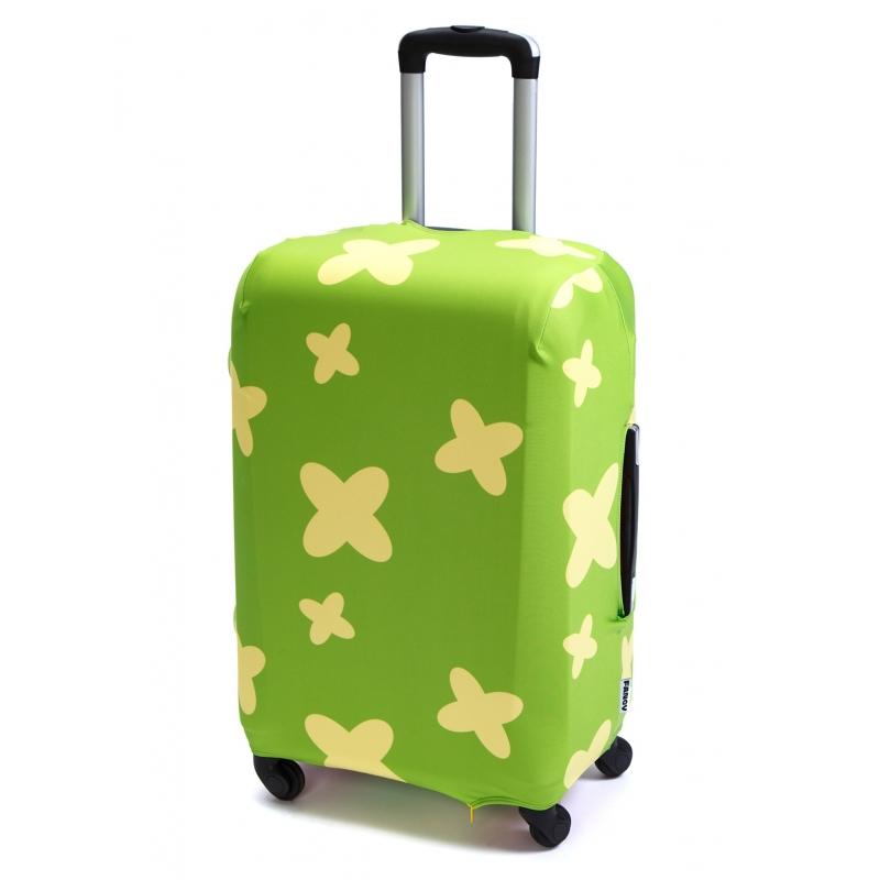 Чехол для чемодана «В мятном (ромашкилютики)»