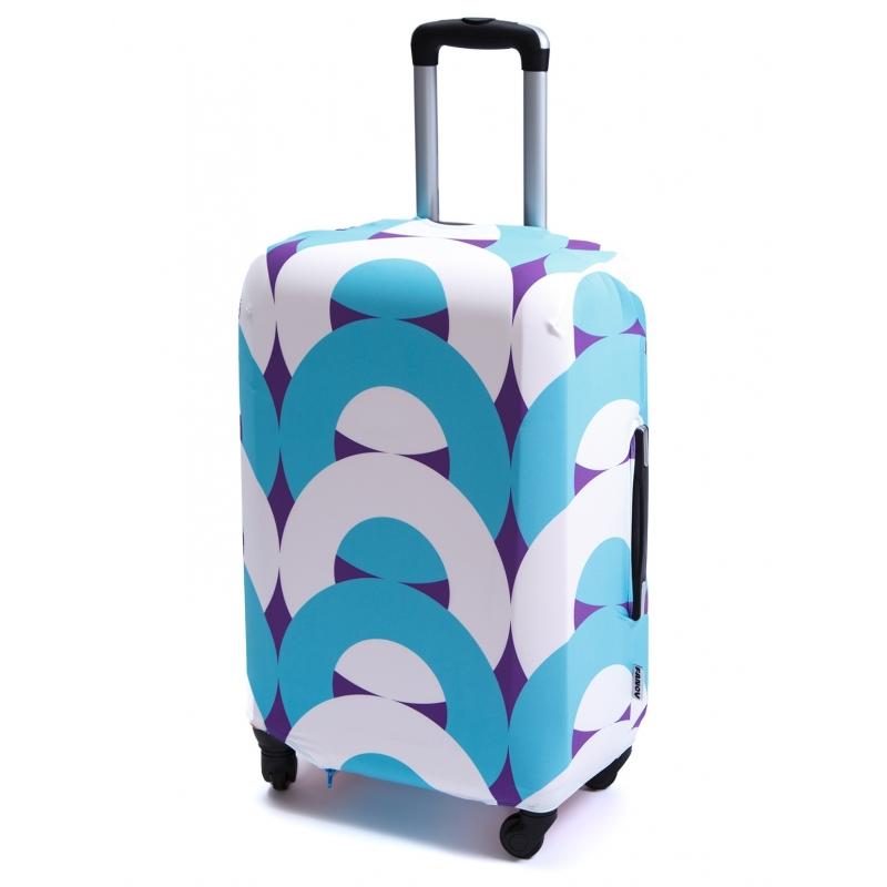 Чехол для чемодана «Геометрия»