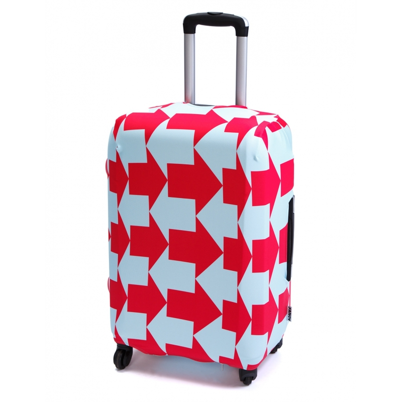 Чехол для чемодана «Выход там»