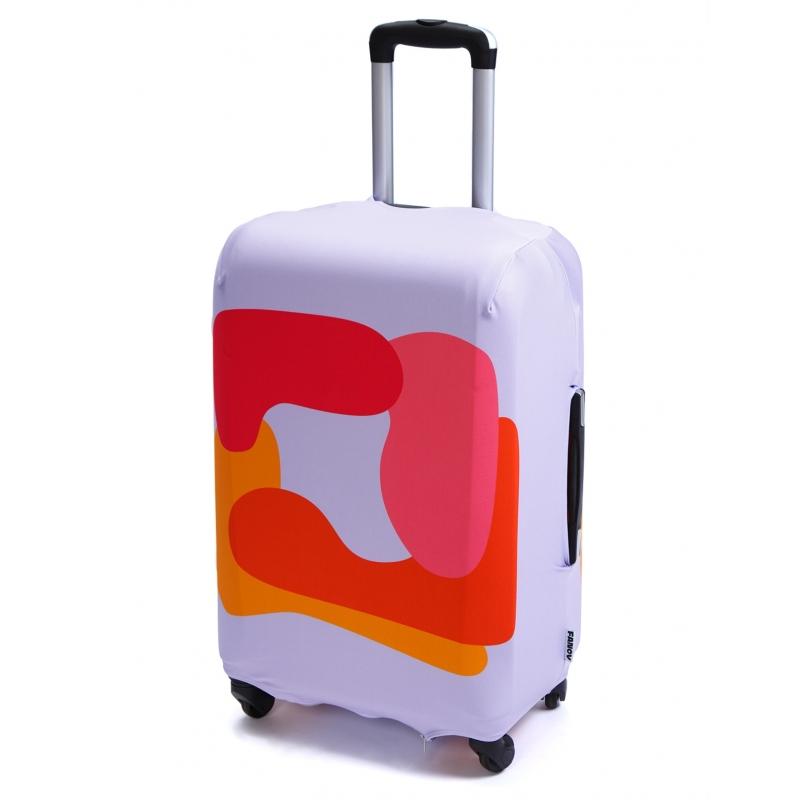 Чехол для чемодана «Красный квадрат»