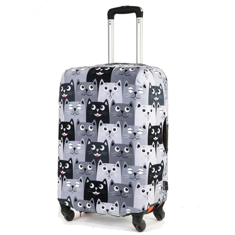 Чехол для чемодана «Все любят котиков»