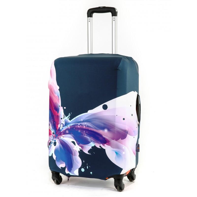 Чехол для чемодана «Мадам Баттерфляй»
