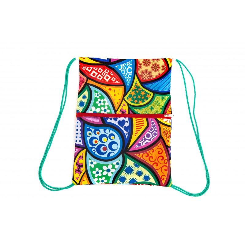 Пляжный рюкзачок «Калейдоскоп»