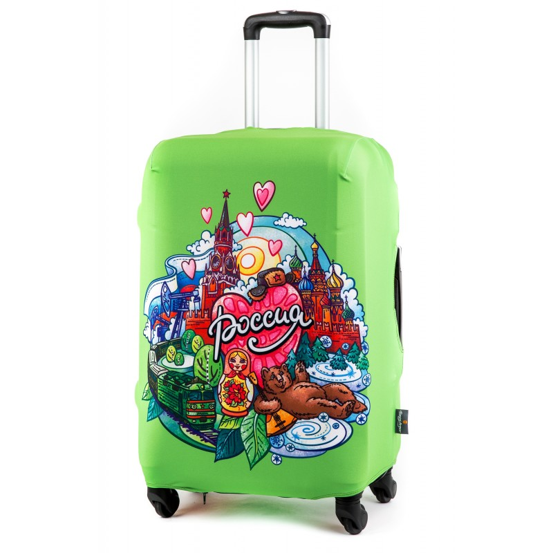 Чехол для чемодана Россия размер S