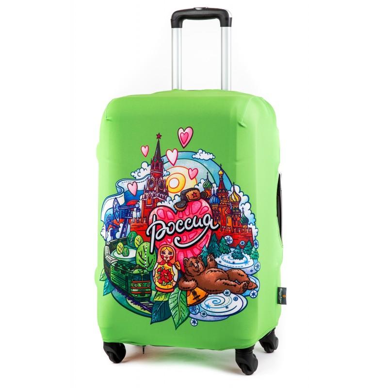 Чехол для чемодана Россия размер XL