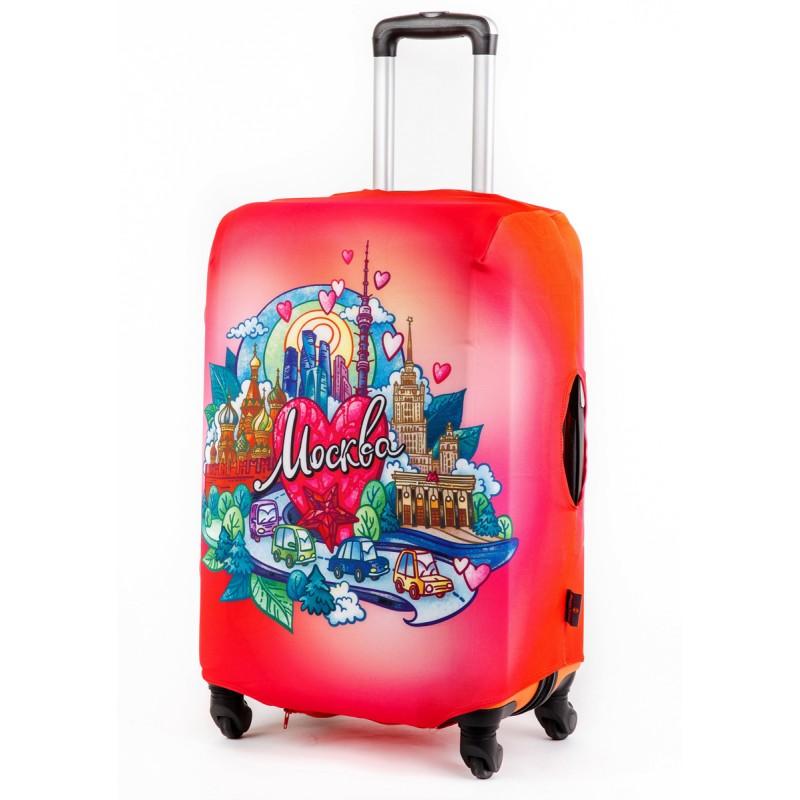 Чехол для чемодана Москва размер S